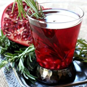 Try this Rosemary Reposado for your Holiday cocktail!