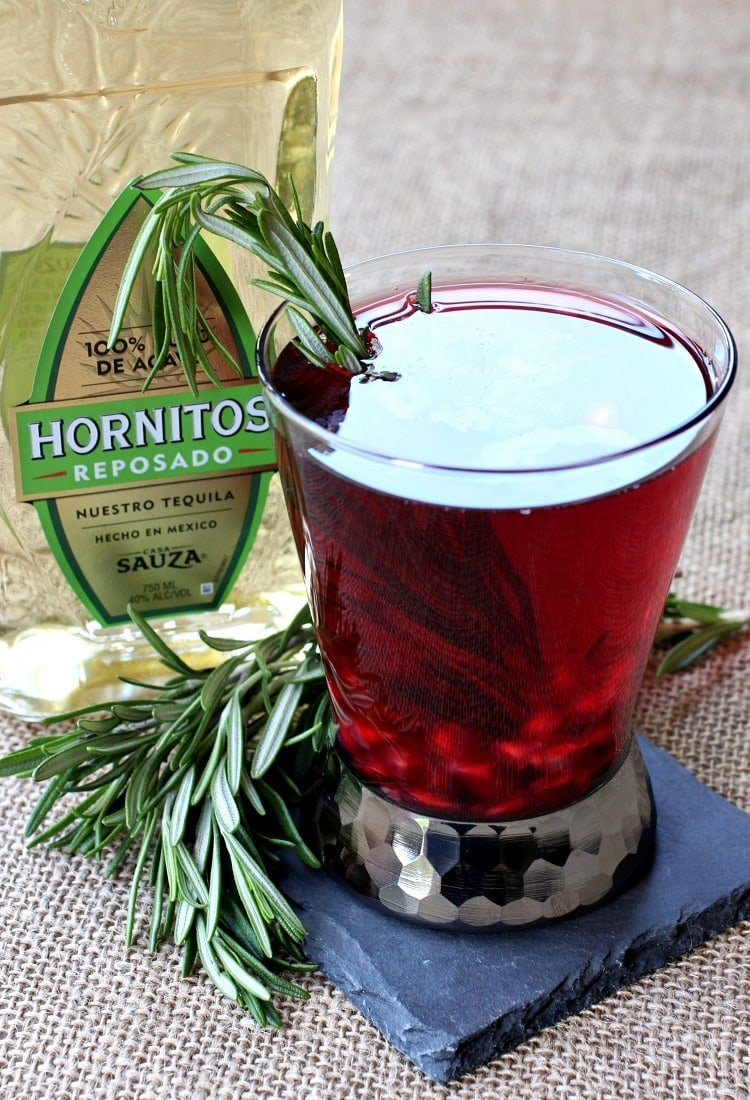 This Rosemary Reposado might turn you into a tequila lover!