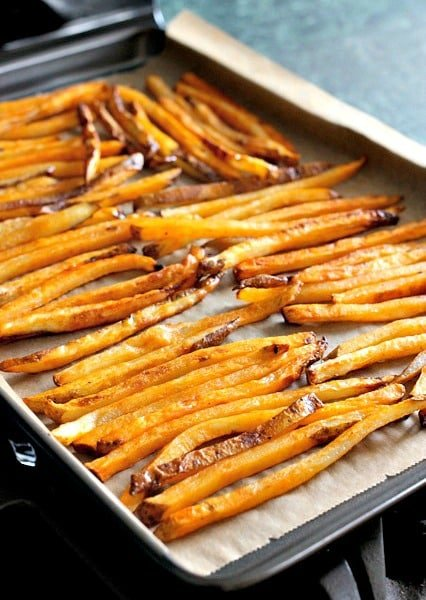 Easy Baked French Fries Recipe