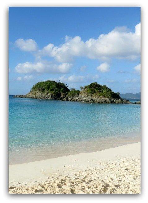 trunk-bay-beach postcard