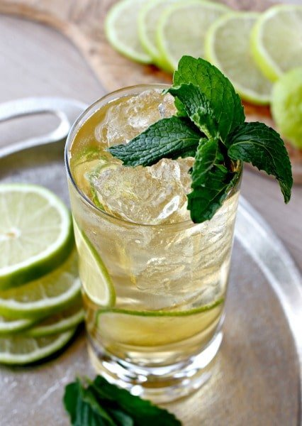 Gin and Ginger Fizz top