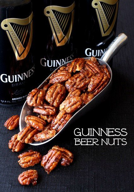 Guinness beer nuts featred