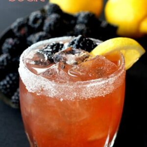 Blackberry Whiskey Sour Cocktail Recipe | The Best Whiskey Sour