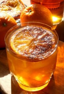 Charred Orange Whiskey