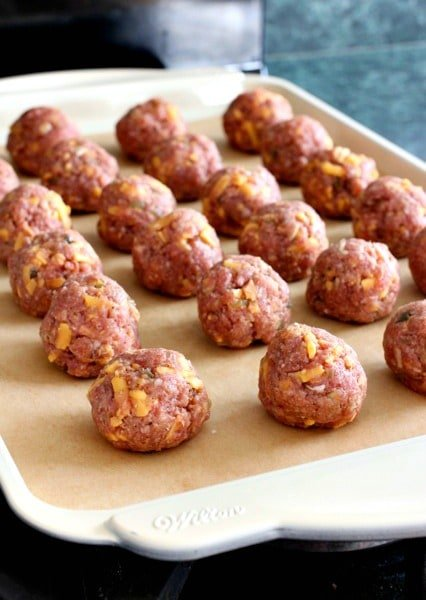 Cheeseburger Meatballs is an appetizer recipe that bakes in 15 minutes