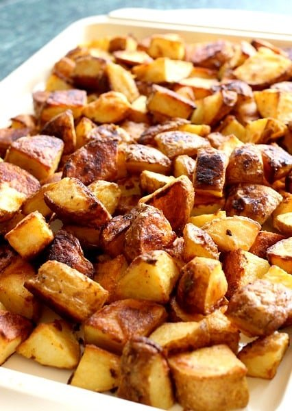 mustard-roasted-potatoes-pan-cooked