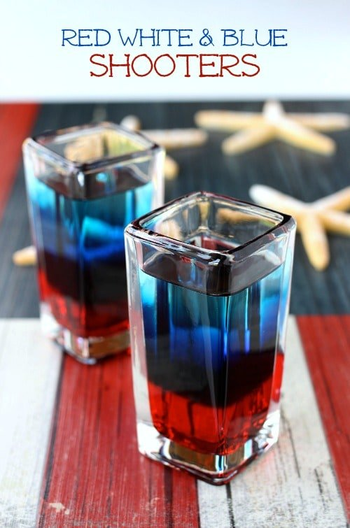 Red White and Blue Shooters hero shot