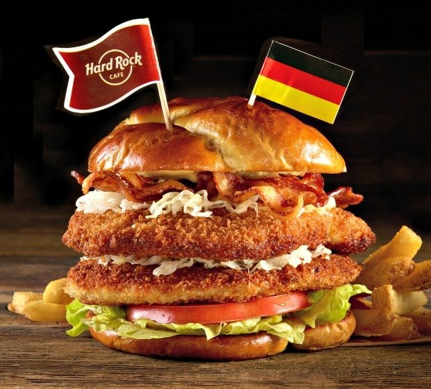 Hard Rock Cafe Burger Recipe