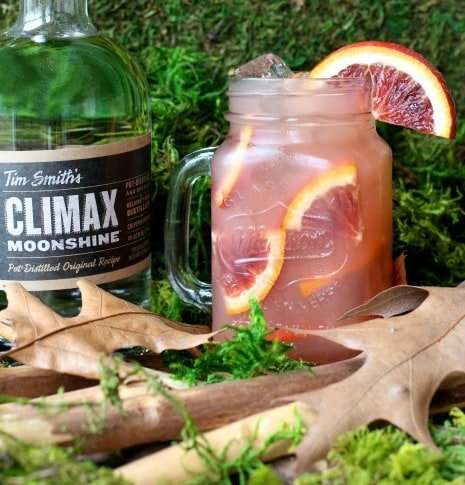 Sex In The Woods cocktail recipe uses moonshine instead of vodka