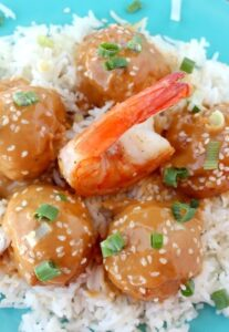 Thai Shrimp Meatballs