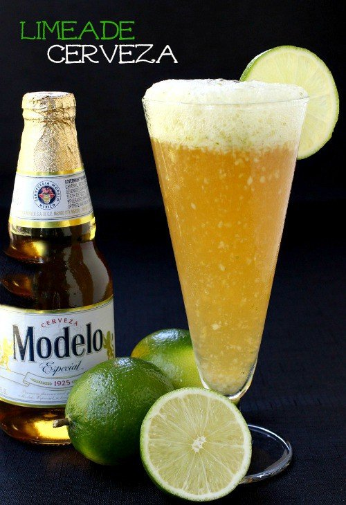 Limeade Cerveza featured with limes