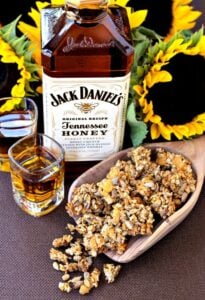 Sunflower Whiskey Granola