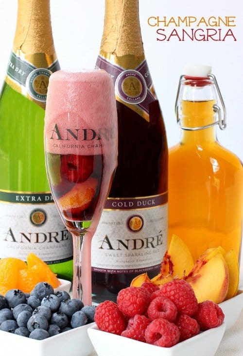 Champagne Sangria featured image