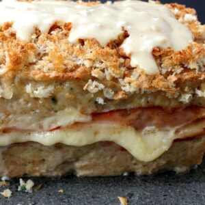 Chicken Cordon Bleu Meatloaf Recipe