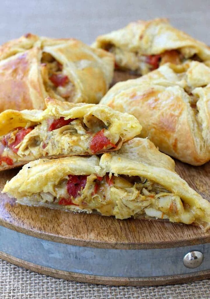 Green Chile Chicken Hand Pies featured