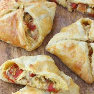 Green Chile Chicken Hand Pies