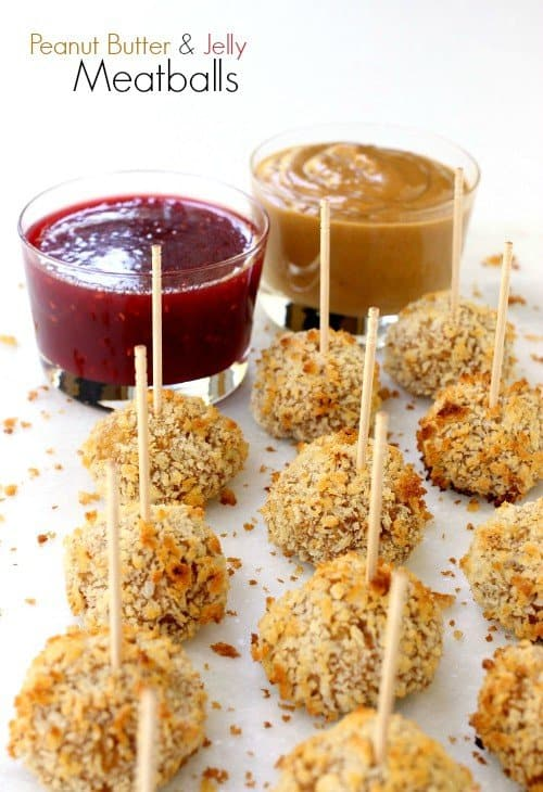 Peanut Butter and Jelly Meatballs Recipe