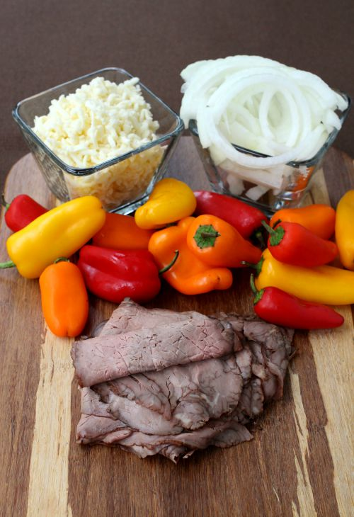 philly-cheesesteak-stuffed-peppers-ingredients
