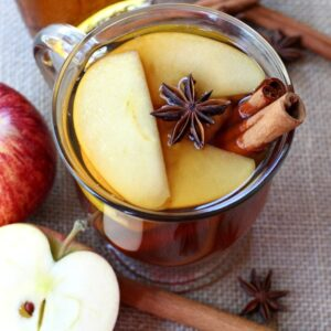 apple brandy hot toddie