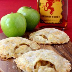 Fireball Whisky Apple Pies | Easy Apple Pie Dessert Recipe