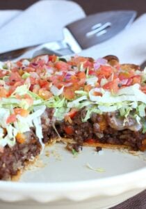 Loaded Taco Pie