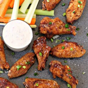 Salt and Vinegar Wings