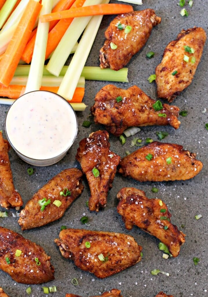 Easy Salt and Vinegar Chicken Wings