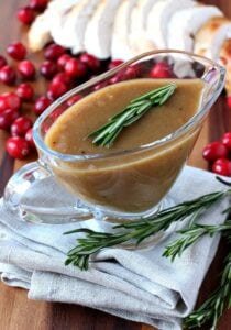 Cranberry Whiskey Gravy