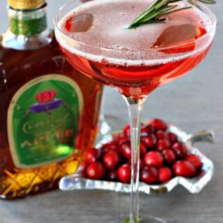 Cranberry Whisky Sparkler
