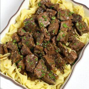 Slow Cooker Bourbon Beef Stew