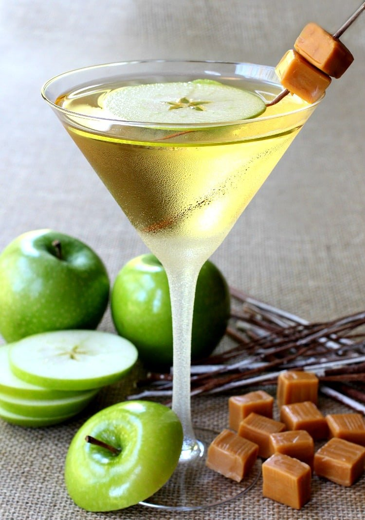 Lovely Caramel Apple Martini Feature