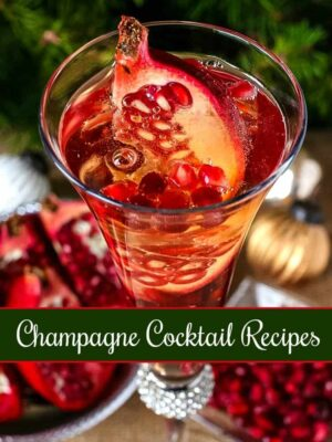 10 Easy Champagne Cocktail Recipes for New Years & Cocktail Parties!
