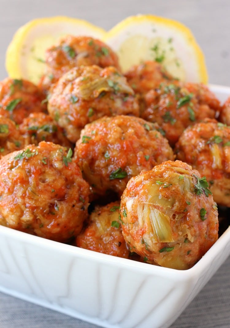Honey Glazed Salmon Meatballs