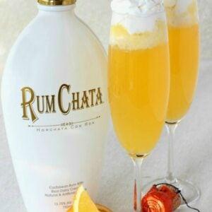 RumChata Creamsicle Champagne