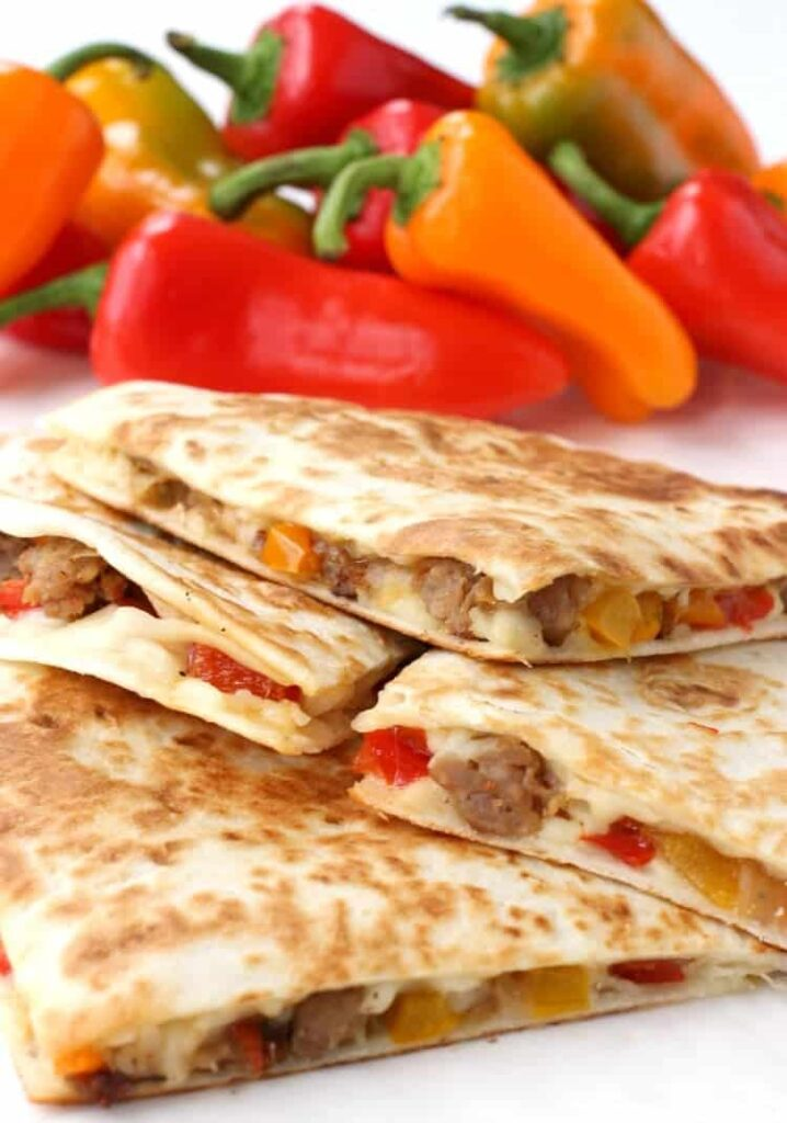 sausage-pepper-quesadilla-close