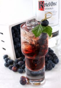 Blueberry Vodka Cooler