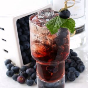 Blueberry Vodka Cooler
