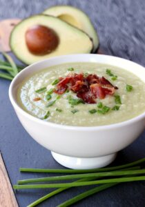 Creamy Potato and Avocado Soup