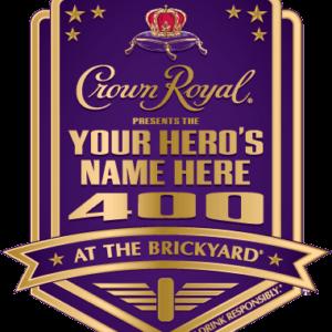 Brickyard 400 Name Your Hero