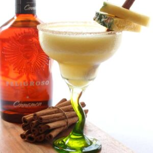 Cinco de Mayo Tequila Cocktails - Cinnamon Pineapple Margarita