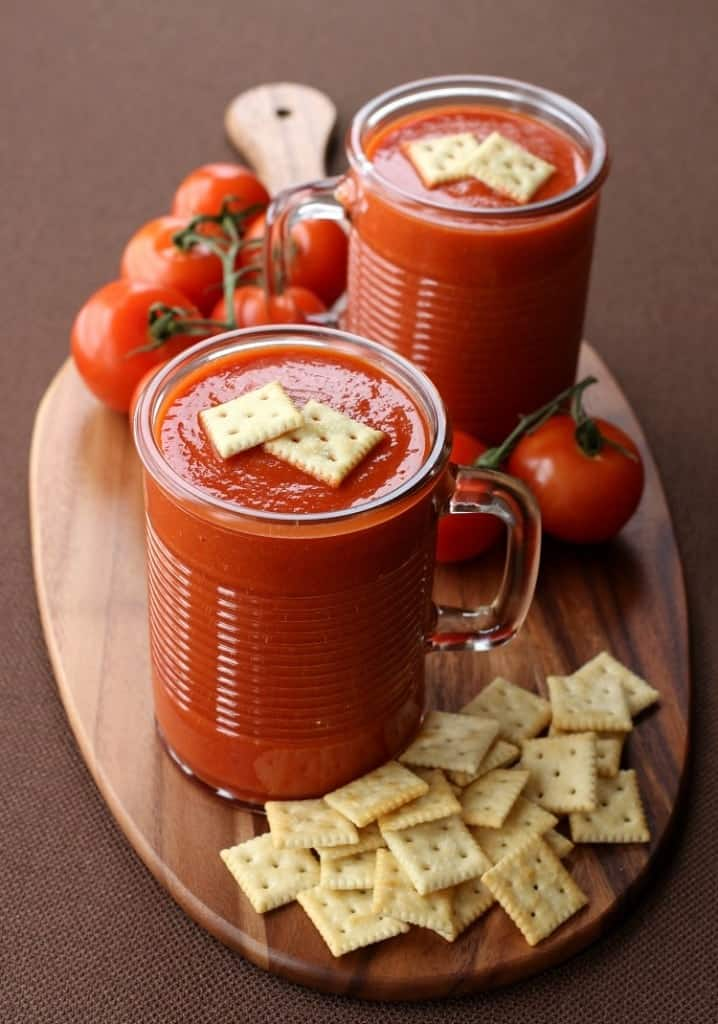 Copycat Campbell's Tomato Soup recipe is a homemade version of the original canned version