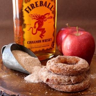 Fireball Apple Fritters
