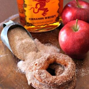 Fireball Apple Fritters Recipe | How To Make The Best Apple Fritters