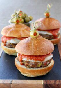 Sausage Picadillo Sliders