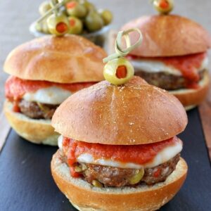 Sausage Picadillo Sliders
