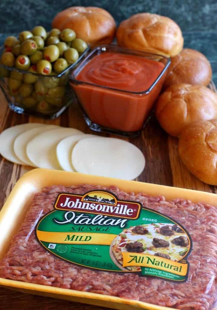 sausage-picadillo-sliders-ingredients