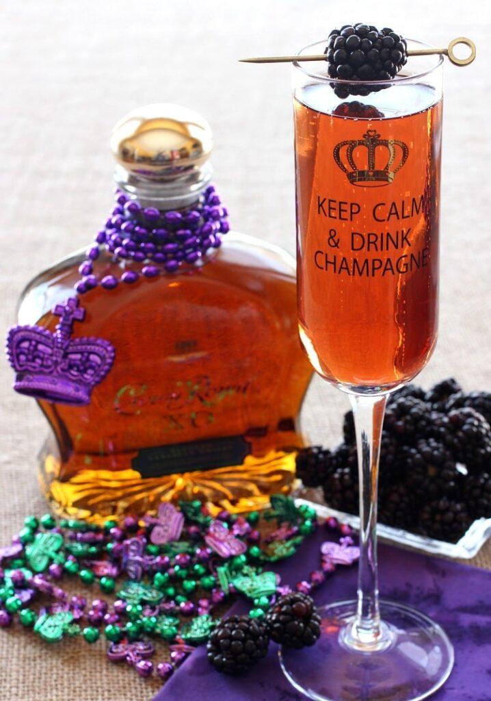 Whisky Kir Royal Drink Recipe