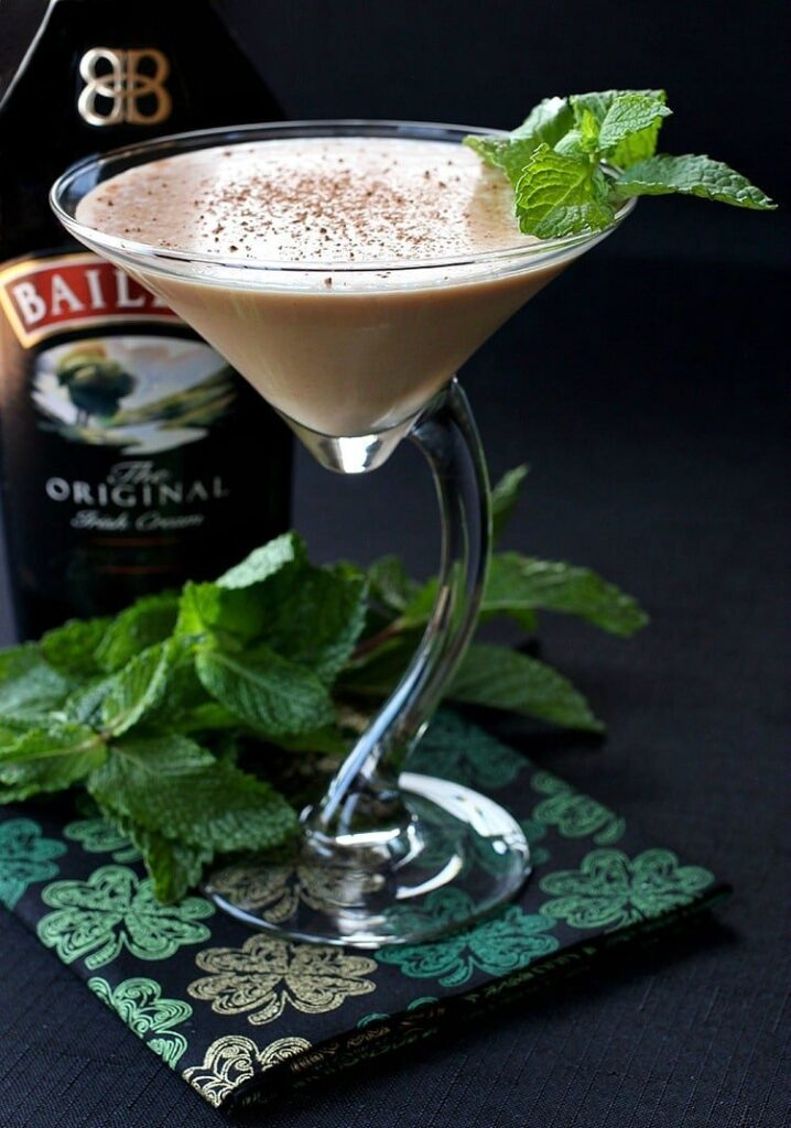 Baileys martini is a martini recipe that can be served for dessert or at cocktail hour