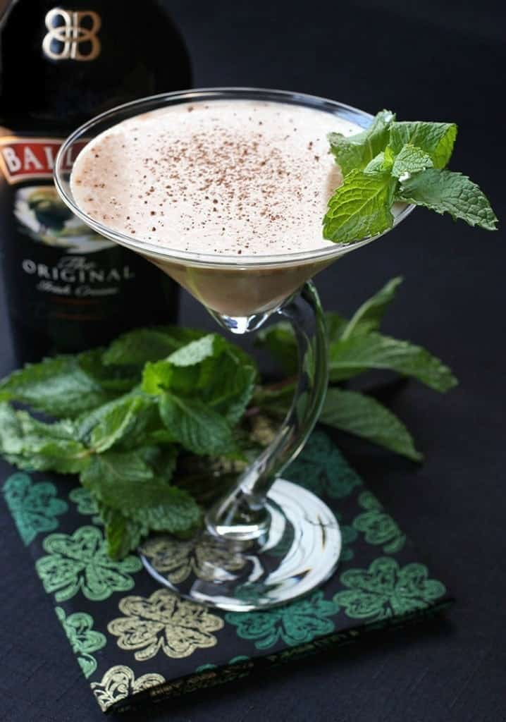 This Baileys Martini will start off your St. Patrick's Day Celebration!