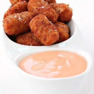 Cheesy Corned Beef Tater Tots